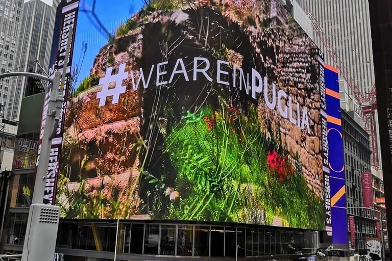 Puglia a Times Square