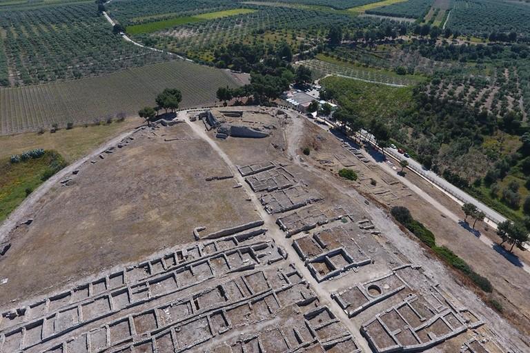 Canne della Battaglia  Aerea cittadella e Antiquarium