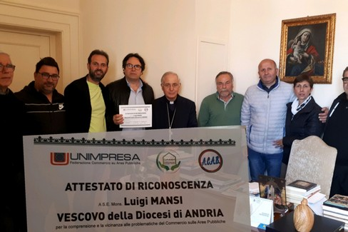 Mons.Mansi Commercianti di Andria