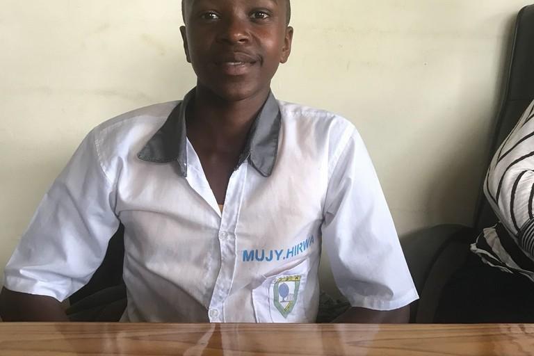 Hirwa Mujyambere Fiacre Ruanda AVSI O.N.G.