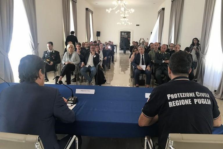 Barletta Giornata formativa protezione civile