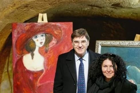 Giorgio Grasso e Caterina Cannati-Kataos