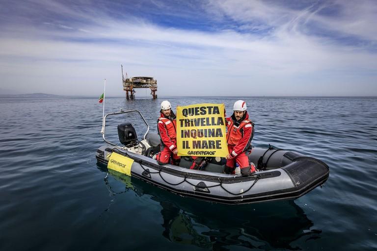 Greenpeace  Stop Trivelle
