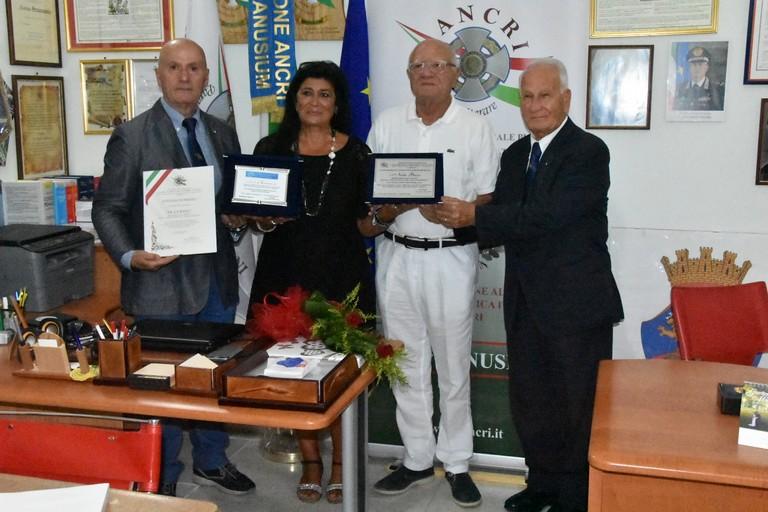 Premiazione Nicla Basso
