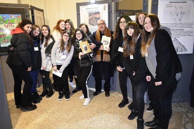 Mostra del Liceo Fornari di Molfetta a Canosa