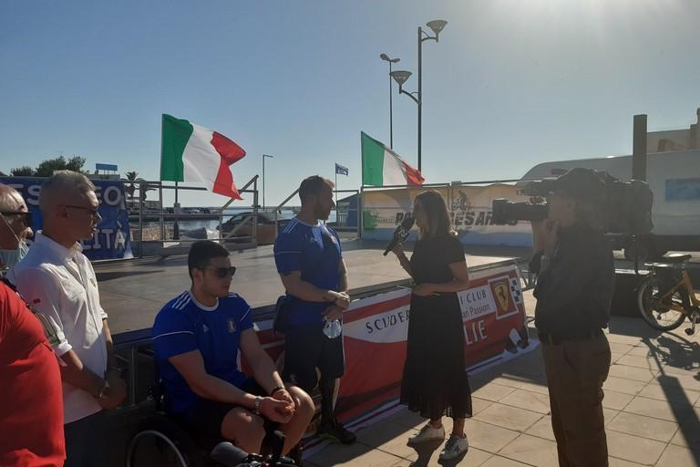 Staffetta Tricolore  Obiettivo3 Porto Cesareo