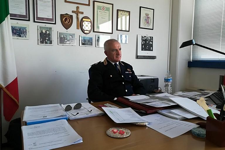 Polizia Stradale dirigente  Luca Speranza