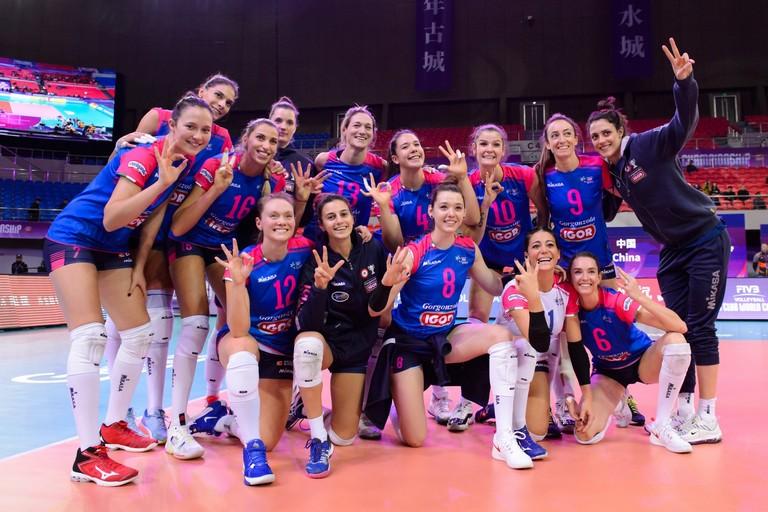 Igor Volley Novara Stefania Sansonna
