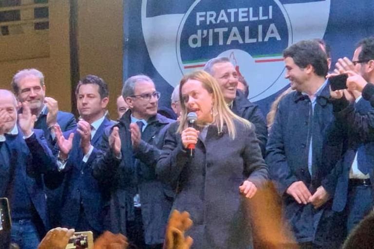 Bari Giorgia Meloni