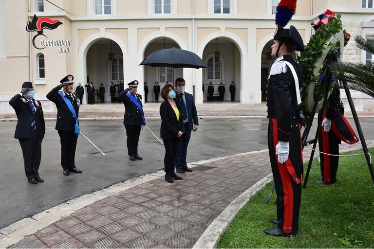 Bari  206° Anniversario di Fondazione dell'Arma dei Carabinieri