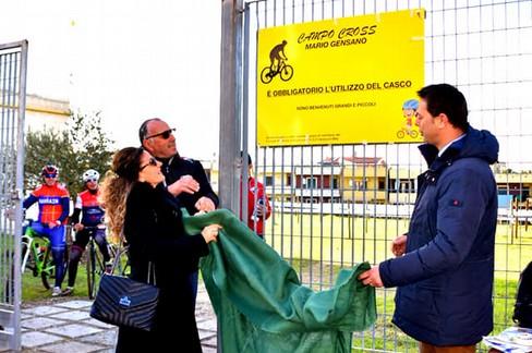 A Mario Gensano, la pista di mountain bike