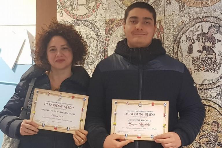 Biagio Nagliero  e Giulia Giorgio