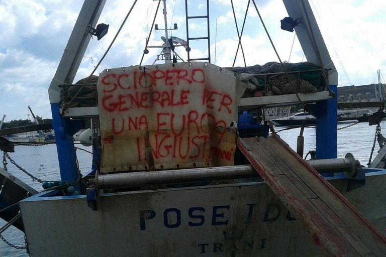 Pescatori in protesta