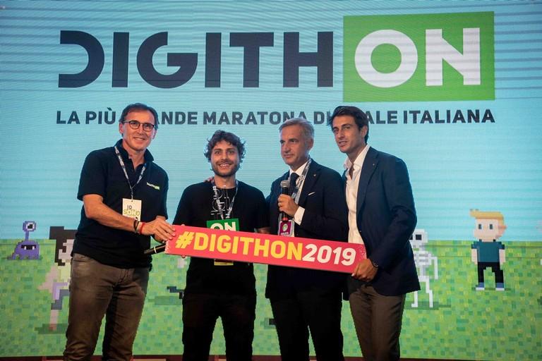 Premio Digithon 2019 Boccia Mosaic Fontana Aprile