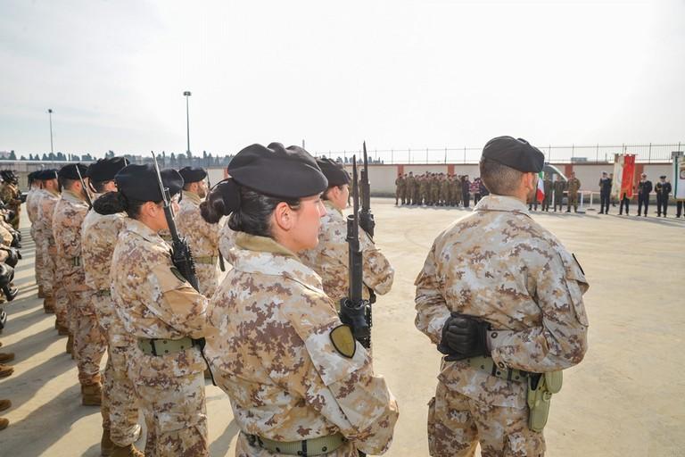 Militari Brigata Pinerolo Caserma Briscese