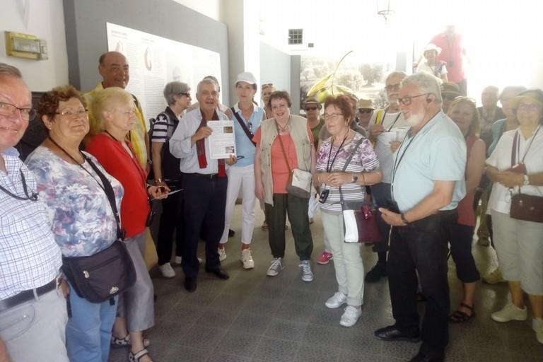 Turisti da Regensburg a Canosa il 7 giugno 2019