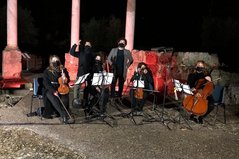 Francesco Allegro Parco Archeologico San Leucio