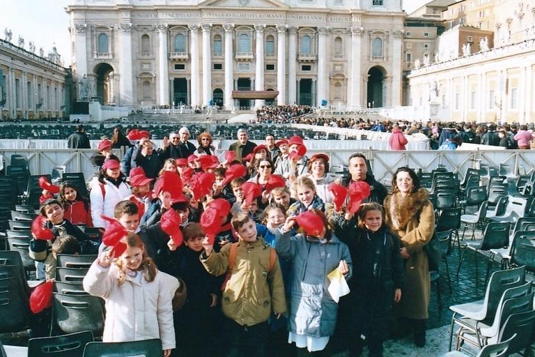 Roma alunni  canosini 3 gennaio 2001