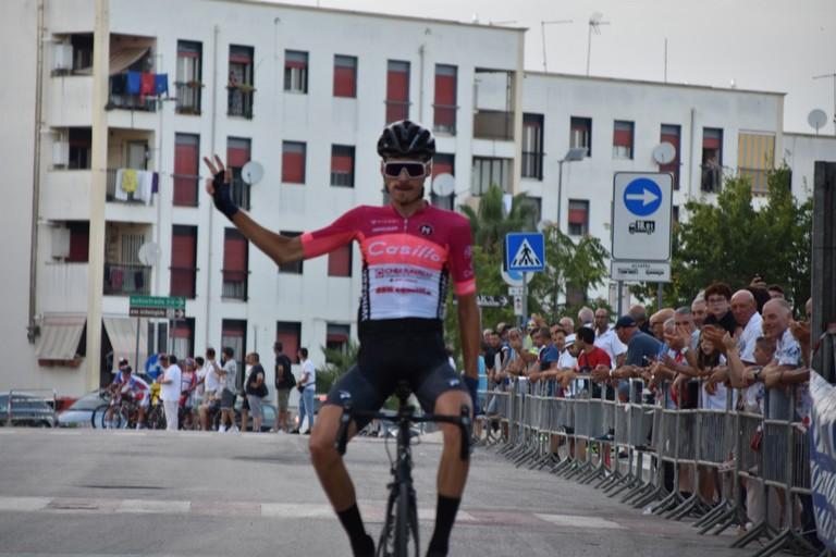 Andrea Cacciotti  vince la 68^ Coppa San Sabino