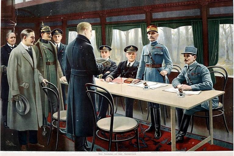 Armistizio di Compiegne 11 nov. 1918