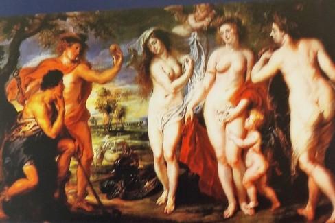 Rubens Il giudizio di Paride