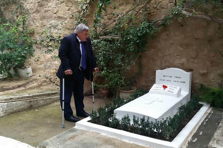 Bettino Craxi  Hammamet Tunisia Nunzio Valentino