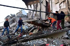 Emergenza terremoto in Albania
