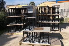 Canosa:Nuovi banchi per le scuole dell'infanzia