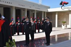 Il Comandante Generale dei Carabinieri Nistri al Sacrario dei Caduti d'Oltremare