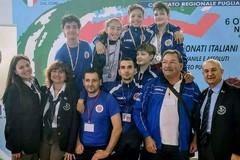 Cinque medaglie per il CAS Canosa