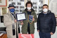 Premiato Francesco Allegro da ANCRI BAT e Pro Loco Canosa