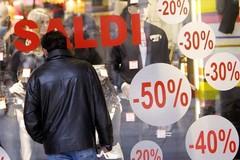 Lo sconto dei saldi: un segnale di disperazione dei piccoli commercianti