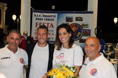 Sansonna e Coletti alla Festa dell'ASD Progetto Uomo Canosa