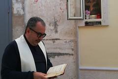 Canosa: benedetta la nuova edicola votiva