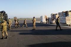 L'Esercito Italiano in campo per distribuire i DPI