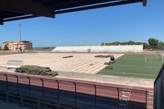 Stadio Comunale S.Sabino: lavori di manutenzione straordinaria