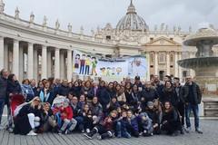 San Sabino tra le mani di Papa Francesco