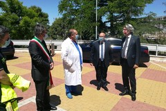 Il Prefetto Valiante omaggia medici e personale sanitario