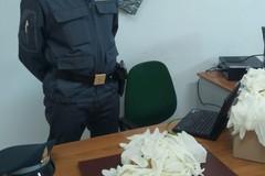 Sequestrati 80.000 guanti in lattice monouso destinati all'esportazione