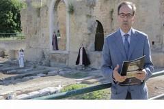 Il professor Giuliano Volpe a Canosa