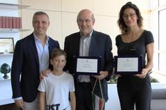 Sansonna e Vernò premiati dalla Regione Puglia