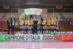 Imoco Conegliano campione d'Italia