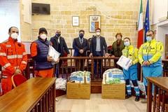 Il Rotary Canosa  dona d.p.i. ai servizi di soccorso  territoriali
