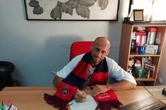 Saverio Dicandia firma per il Canosa Calcio 1948