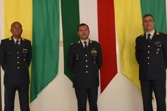 Il Colonnello William Vinci al Comando del I Gruppo G.di F. Bari