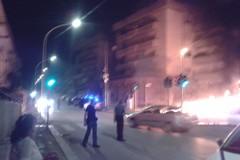Canosa: si incendia un autovettura