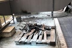 Principio di incendio doloso all'ospedale Bonomo di Andria