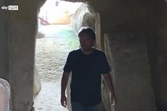 Canosa:John Pedeferri tra le bellezze archeologiche
