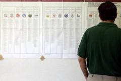 A Canosa affluenza  bassa ai seggi elettorali