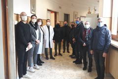 Confcommercio di Andria: Omaggio al Bonomo e alla Asl